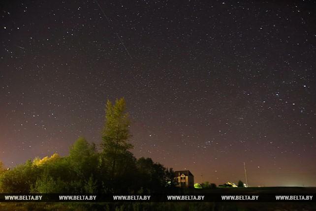 Майские Аквариды наблюдали белорусы ночью с 5 на 6 мая