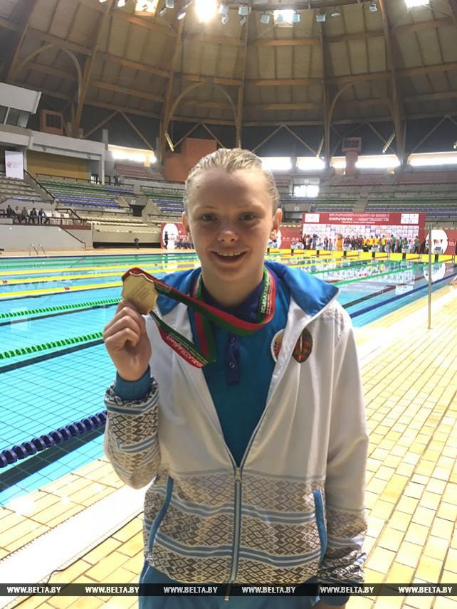 Белорусские пловцы выиграли золото на гимназиаде в Марокко