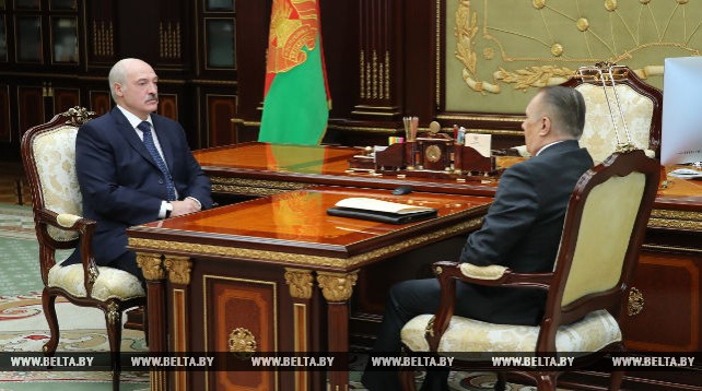 Лукашенко обсудил с Сукало работу и развитие судебной системы Беларуси