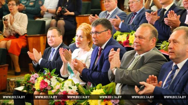 Лучших тружеников области чествовали в Бресте