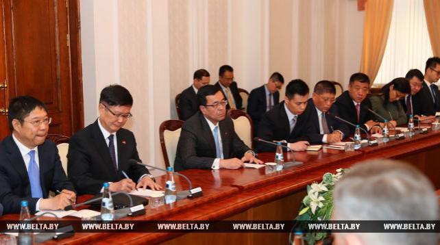 Кобяков встретился с президентом корпорации CITIC Group