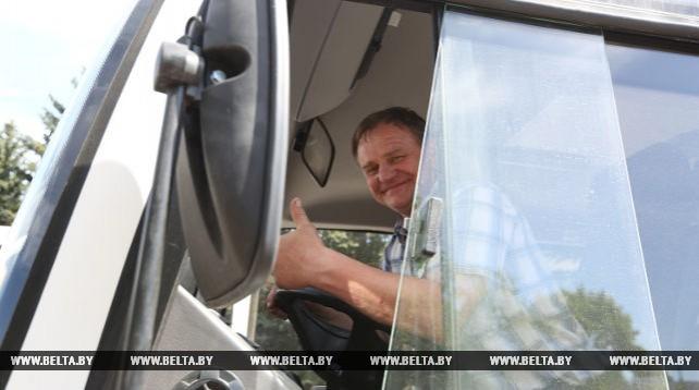 Борисовский автопарк получил новые автобусы