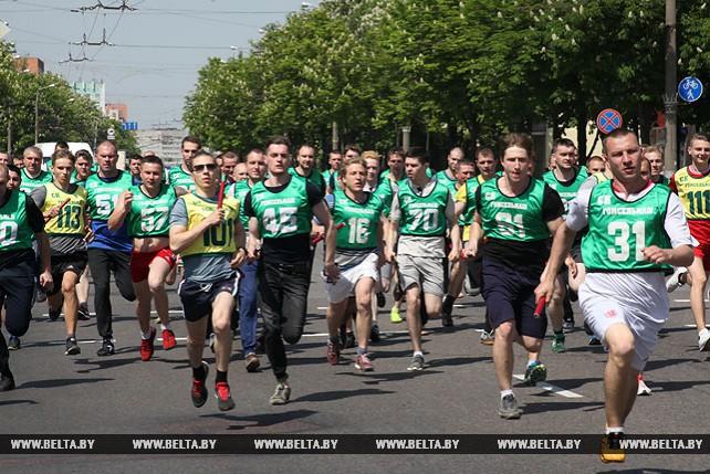 Легкоатлетическая эстафета памяти Николая Дворникова прошла в Гомеле