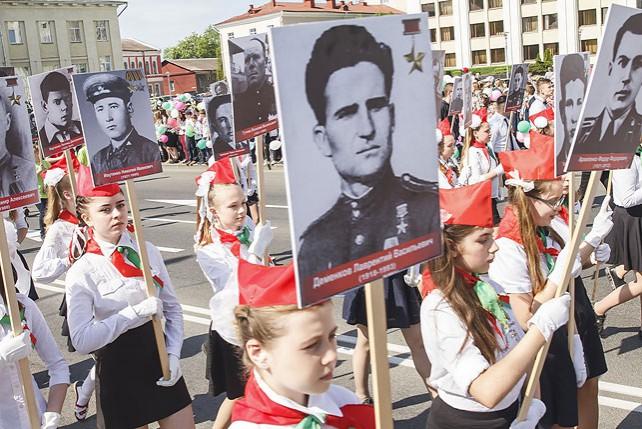 День Победы празднуют в Могилеве