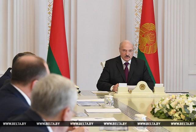 "На совещании у Лукашенко обсудили развитие ""Гродно Азота"""