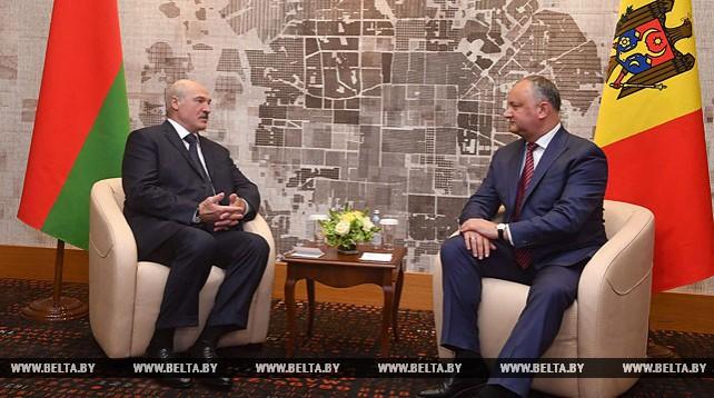 Лукашенко встретился с Игорем Додоном