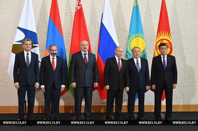 Лукашенко принял участие в заседании Высшего Евразийского экономического совета в Сочи