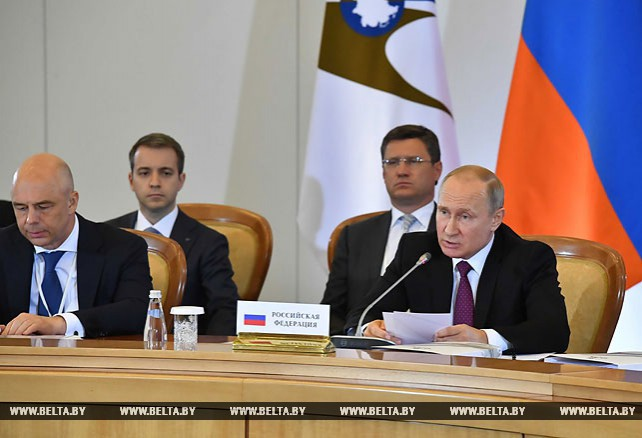 Лидеры стран ЕАЭС согласовали статус страны-наблюдателя в союзе для Молдовы