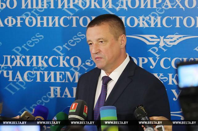 Беларусь предлагает Таджикистану и другим странам региона кооперацию в АПК и промышленности