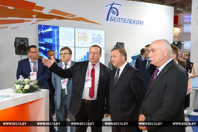 """Кобяков посетил выставку """"ТИБО"""""""