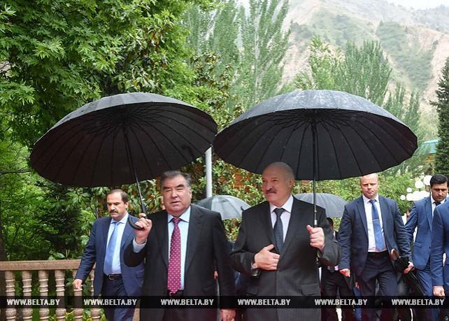 Завершился официальный визит Лукашенко в Таджикистан