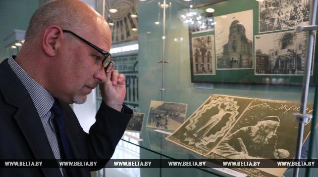 Первым шагам развития белорусского кинематографа посвящена выставка в Витебске