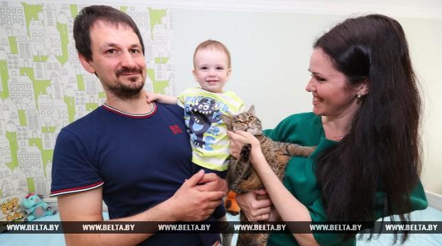 Минчанка Татьяна Парфенович награждена орденом Матери