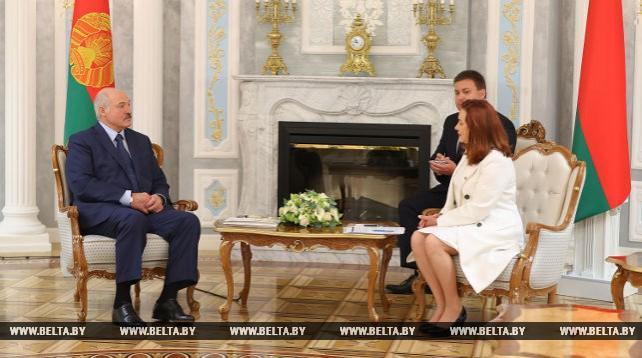 Лукашенко встретился с министром иностранных дел Эквадора