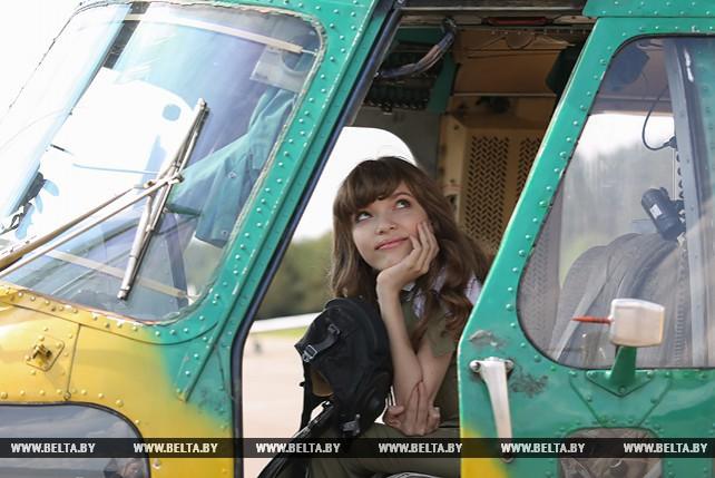 На аэродроме Липки исполнилась мечта Виолетты Банкович