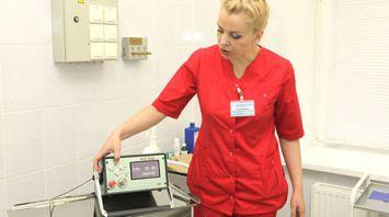 Новую технологию лазерного лечения внедрили в Гомельском онкодиспансере