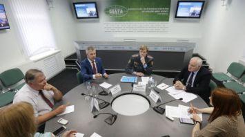 Изменения в закон о дорожном движении обсудили в пресс-центре БЕЛТА