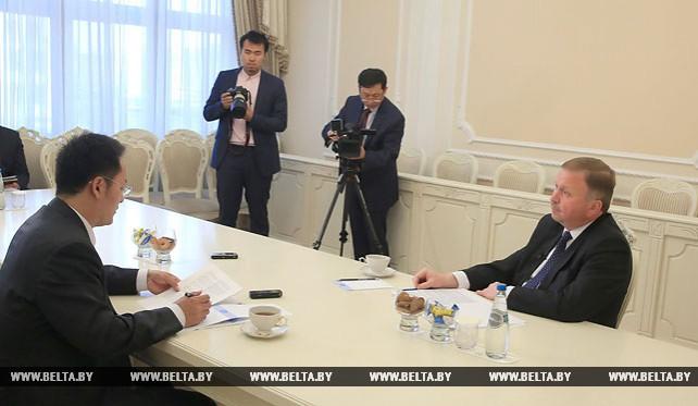 """Кобяков дал интервью агентству """"Синьхуа"""""""