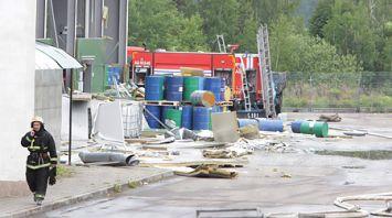 Взрыв произошел в здании в деревне Королев Стан