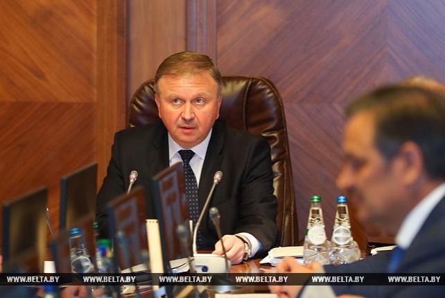 Кобяков на заседании Президиума Совета Министров