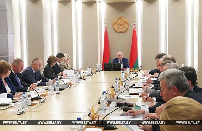 Заседание оргкомитета по подготовке V Форума регионов Беларуси и России прошло в Минске