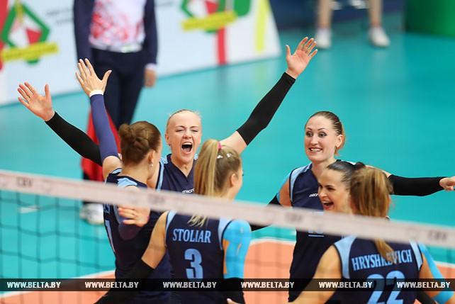 Женская сборная Беларуси по волейболу обыграла Словакию