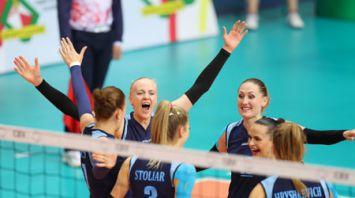 Сборная Беларуси по волейболу обыграла Словакию