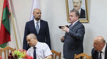 Сергей Рудый представил коллективу Брестского государственного технического университета нового ректора
