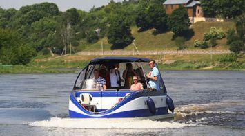 В Гродно заработали первые речные такси