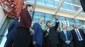 """Ван Цишань посетил Китайско-белорусского индустриального парка """"Великий камень"""""""