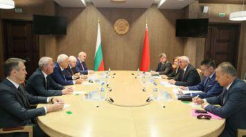 Мясникович встретился с болгарскими парламентариями