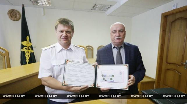 Гашение почтового конверта, посвященного юбилею таможен, состоялось в Минске