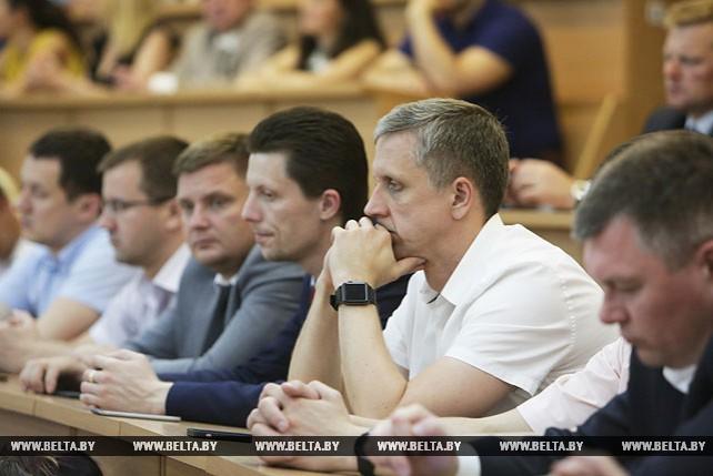 Сергей Лавров встретился с профессорско-преподавательским составом Академии управления при Президенте Беларуси