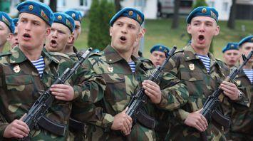 Новобранцы 103-й отдельной гвардейской воздушно-десантной бригады приняли присягу