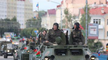 """Участники бронепробега """"Дорога мужества"""" прибыли в Оршу"""