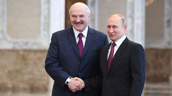 Встреча Лукашенко и Путина прошла во Дворце Независимости
