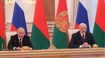 Лукашенко заявил о необходимости устранения в торговле с Россией взаимных барьеров и изъятий