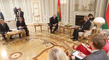 Александр Лукашенко встретился с Йоханнесом Ханом