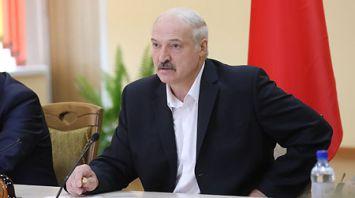 Лукашенко провел совещание в Шкловском районе