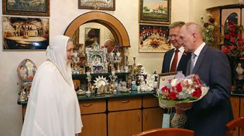 Игуменья Гавриила отмечена грамотой Гродненского областного Совета депутатов