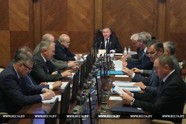 На заседании Президиума Совета Министров обсудили стратегию развития строительной отрасли