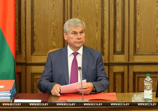 Заседание четвертой сессии Палаты представителей шестого созыва прошло в Минске