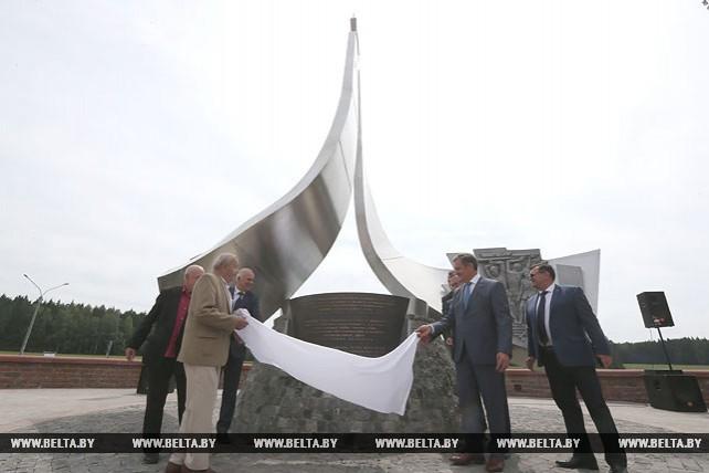 Памятный знак ветеранам дорожного хозяйства открыли в Минском районе