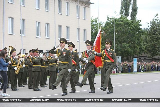 В Военной академии Беларуси прошел очередной выпуск офицеров