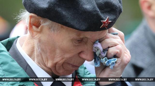 Ветераны из Беларуси, России, Латвии встретились на Кургане Дружбы