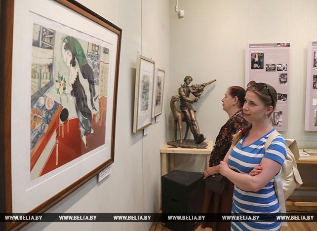 """В Витебске открылась выставка """"Белла Шагал. Портрет жены художника"""""""