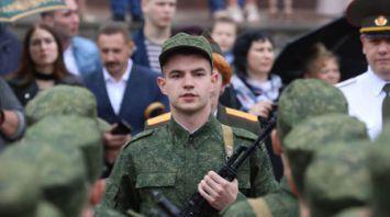 Студенты Витебского медуниверситета приняли военную присягу