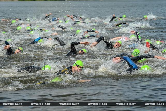 Соревнования по триатлону прошли в Минске