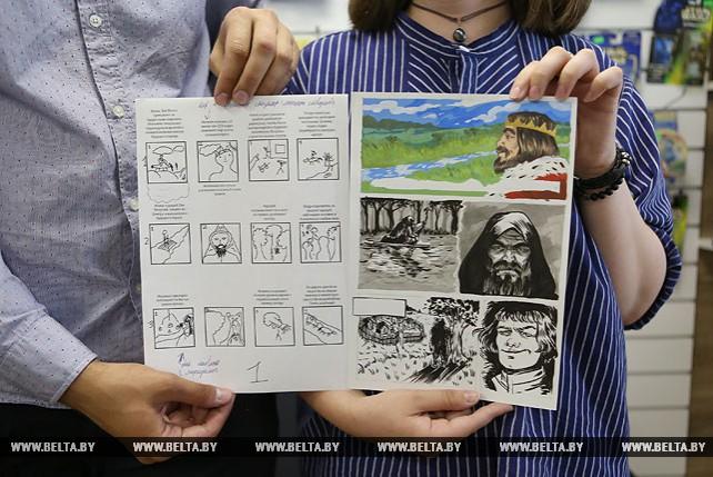 Готовится к изданию белорусский сборник комиксов