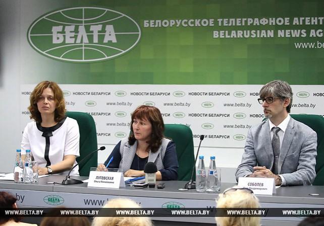 Брифинг о результатах партнерской проверки стресс-тестов БелАЭС прошел в пресс-центре БЕЛТА